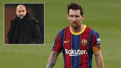 Manchester City have denied lining up a new offer for Messi. © Reuters