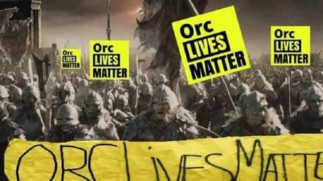 © Facebook / Orc-Lives-Matter