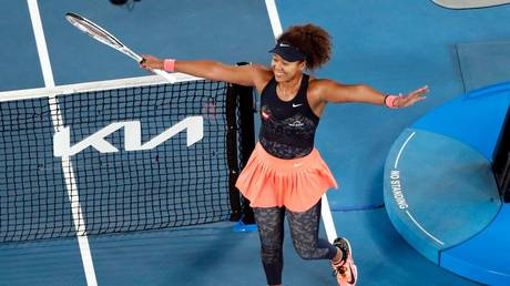 Osaka was queen Down Under again. © Reuters