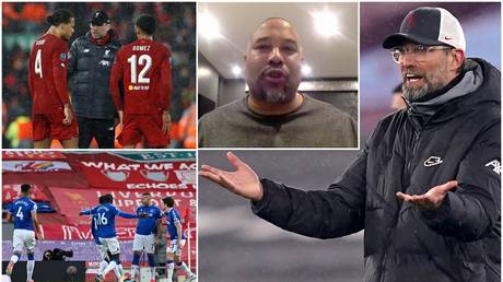 Liverpool legend John Barnes doesn't believe that current manager Jurgen Klopp is stressed by result poor results. © Clockwise from bottom left: Reuters / RT Sport / AFP