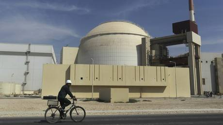 Reactor building of the Bushehr nuclear power plant, Bushehr, Iran © AP Photo/Mehr News Agency, Majid Asgaripour