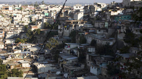 FILE PHOTO: A slum in zone 5 of Guatemala City