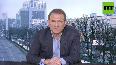 Viktor Medvedchuk, MP and chairman of Opposition Platform — For Life, in conversation with RT.