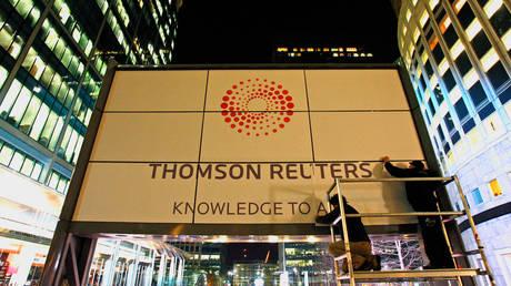 FILE PHOTO: The Thomson Reuters headquarters in London. © REUTERS/Alessia Pierdomenico