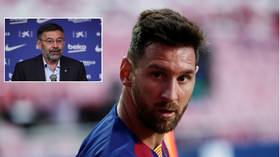 It wasn't me: Former Barcelona chief DENIES leaking Messi's mega €555mn contract – but says star DESERVES what he earns
