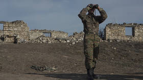 Fresh fears of fighting in Nagorno-Karabakh as Azerbaijan accuses Armenia of violating ceasefire with machine gun volley