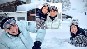 Brrr-onaldo! Cristiano Ronaldo celebrates his 36th birthday in a winter wonderland with partner Georgina Rodriguez (VIDEO)