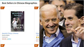 Hunter Biden's newly announced memoir briefly makes it to #1 in 'Chinese biography bestsellers' on Amazon