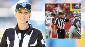 'They notice the difference': Mother-of-three who is first female official at Super Bowl claims 'gender barrier' has been 'broken'