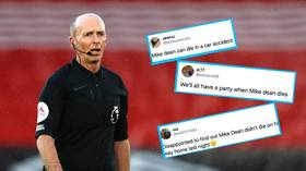 'Hope he DIES': Premier League ref refuses to officiate after death threats over VAR red card debacle