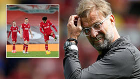 'He seems to be losing it': Liverpool boss Jurgen Klopp blasted for 'beyond childish' attack on reporter after latest loss (VIDEO)