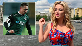 'I have breasts, not boobs': Ice queen Semenovich tells former Russia player to 'cut something to run faster' after cleavage claim