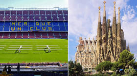 What's in common between Barcelona's Camp Nou and Sagrada Familia? Both can be VACCINATION CENTERS, local authorities suggest