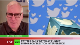 Gateway Pundit founder questions those saying 2020 election was secure while 'cracking down' on sites like his in RT interview