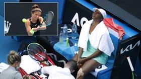 Fans attack Errani for using 'evil' drop shots against injured Venus Williams in Aus Open win