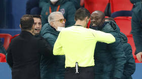 Romanian officials 'WILL NOT face racism charges' over 'negru' comment which caused Champions League game to be abandoned