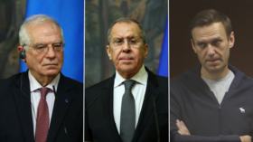 'If you want peace, prepare for war!' Lavrov says Russia ready to break off relations with EU if Navalny sanctions target economy