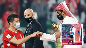 Blatant sexism or cultural norm? Fans react as Qatari royal SNUBS handshake with female official at Club World Cup ceremony
