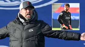 'I can't believe it, but yes': Boss Klopp admits Liverpool won't retain Premier League crown as Alisson HOWLER gifts Leicester win