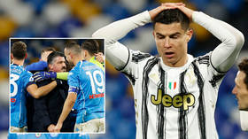 Ronal-doh: Misfiring Cristiano Ronaldo mocked after Juventus blow chance to close in on leaders with Serie A defeat at Napoli