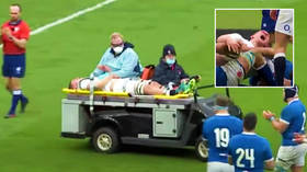 'So sorry': Italy rugby ace Negri apologizes after controversial 'crocodile roll' causes horror injury to England's Willis (VIDEO)