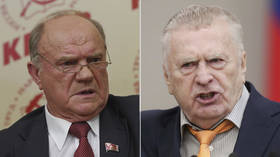Russian right-wing firebrand Zhirinovsky & Communist leader Zyuganov accuse each other of being in league with Navalny supporters