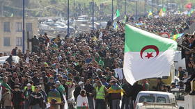 Thousands protest in Algeria demanding end of 'military state' on anniversary of demos that ousted President Bouteflika (VIDEOS)