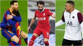 The Champions League is back: Messi & Barcelona host Neymar-less Paris as troubled Premier League champs Liverpool face RB Leipzig