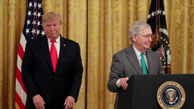 Trump declares war on Senate GOP leader McConnell, calls him 'dour, unsmiling hack' & vows to back 'America First' primary rivals