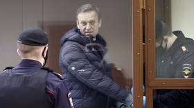 Russia slams 'interference' from European Court of Human Rights over demands to free jailed opposition figure Alexey Navalny