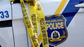 SEVEN people shot outside Philadelphia transit station, one suspect in custody