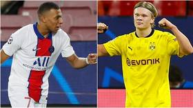 'The torch has passed': Fans convinced Mbappe vs Haaland is football's next great rivalry after week to forget for Messi & Ronaldo