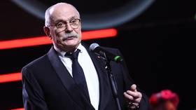 Oscar-winning film director Nikita Mikhalkov says Kremlin should strip citizenship from those demanding sanctions against Russia
