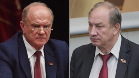 Russian Communist leader Zyuganov threatens to fire anti-Kremlin MP Rashkin after accusations of supporting 'traitor' Navalny