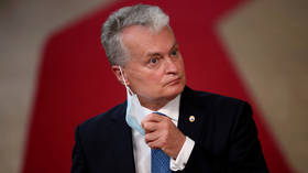 Lithuanian President worried Russia could 'swallow' troubled Belarus as part of embattled leader Lukashenko's eventual departure