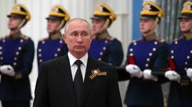 Putin's stern condemnation of 'caveman nationalism' strongly contradicts Western attempts to paint him as Russian ultranationalist