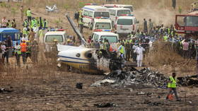 Military passenger plane crashes in Nigeria, seven dead (VIDEOS)