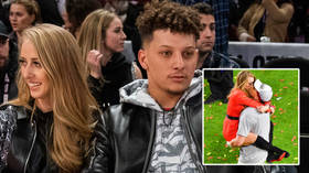 NFL star Patrick Mahomes' fiancee Brittany Matthews gives birth to girl hours after warning 'hateful' women to 'shut the f**k up'