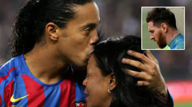 'Sending you strength': Messi consoles ex-Barcelona teammate Ronaldinho after Brazil legend's mom dies from Covid-19 complications