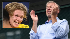 'Could have just got Haaland': Fans joke about ace after footage emerges of Chelsea chief Roman Abramovich's new $605MN superyacht