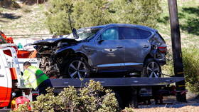Tiger Woods suffers 'serious injuries' to BOTH legs in car crash, but 'jaws of life' weren't used – sheriff
