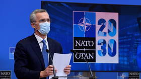 'Undermining faith in NATO' is now grounds for Twitter ban, because certain kinds of politics have become a religion