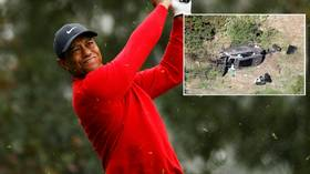 'He was NOT drunk': Police rule out alcohol in Tiger Woods' horror crash as talk turns to star's golfing future
