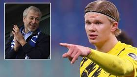 Abramovich 'green-lights swoop for Dortmund phenomenon Haaland' but deal would likely cost Blues upwards of €100 MILLION