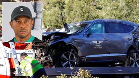 Tiger Woods 'recovering and in good spirits' as career hangs in balance after horror car crash