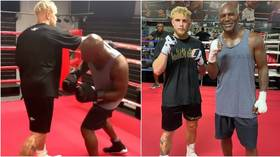 YouTuber Jake Paul eager to prove he's 'real deal' ahead of Askren fight as he links up with ring legend Holyfield (VIDEO)