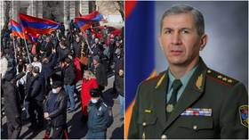 Armenian crisis: President refuses to sack military chief, says PM Pashinyan's order 'unconstitutional'