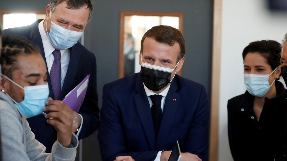 Macron says France's Covid curfew in place for another '4 to 6 weeks' as contagious UK variant accounts for more half of all cases