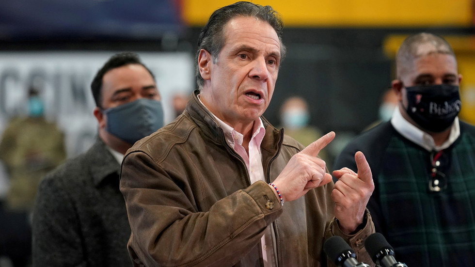 Cuomo accused of 'gaslighting' after he rejects sexual harassment allegations as 'jokes' & 'being playful'