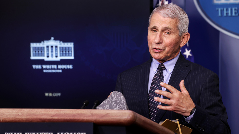 Dr. Anthony Fauci publicly opposes delaying second doses of Covid vaccines to inoculate more people